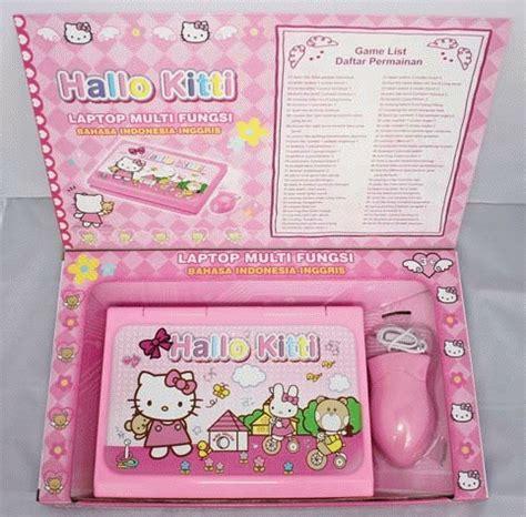 New Produk Edukasi Anak Anak Belajar Mainan Pintar Cerdas Catur Kecil laptop hello kity mainan edukasi anak multifungsi