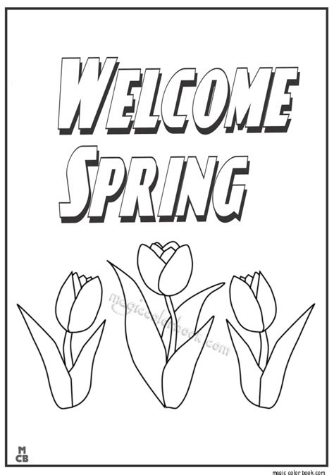 coloring sheets spring break free coloring pages and