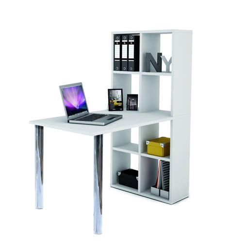 scrivania con libreria quot quot colore bianco