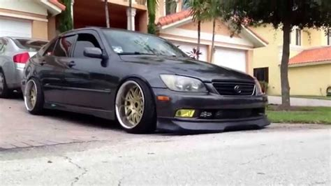 white lexus is300 slammed lexus is300 hellaflush youtube