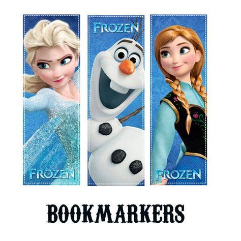 printable frozen bookmarks frozen bookmark disney frozen bookmark frozen by