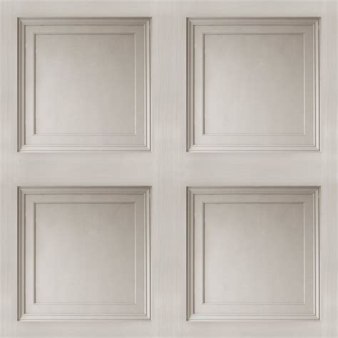 Faux Wainscoting Wallpaper walls republic contemporary 3d faux paneling architectural