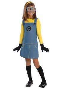 Toddler Minion Costume Child Girls Minion Costume