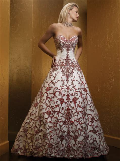 imagenes de vestidos de novia rojo vestido novia rojo 04 jpg