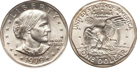 susan b anthony dollars 1979 1981 1999 mintage coin susan b anthony dollar 1978 1981 coin image facts