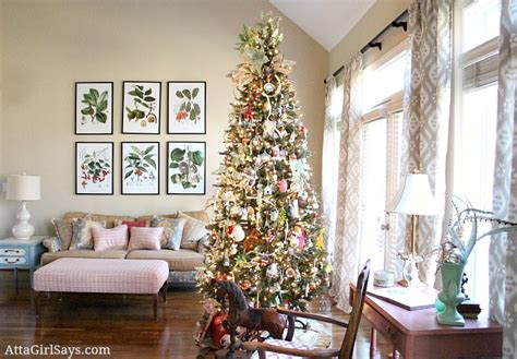 how to decorate a living room for christmas christmas house tour 2012 our living room christmas tree