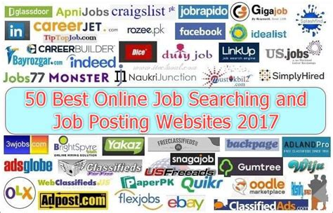 top 7 job search sites and facebook pages