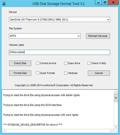 format hard disk means download usb disk storage format tool 5 3 0 build 388