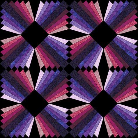 Free Modern Quilt Block Patterns by Modern Dresden Block Free Paper Pieced Pattern Christa Quilts