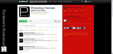 twitter layout tutorial create your custom twitter background photoshop tutorial org