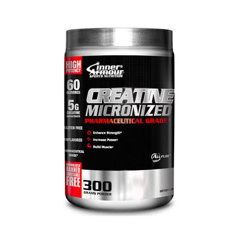 creatine 1 serving sport nutrition inner armour 174 creatine micronized 300g