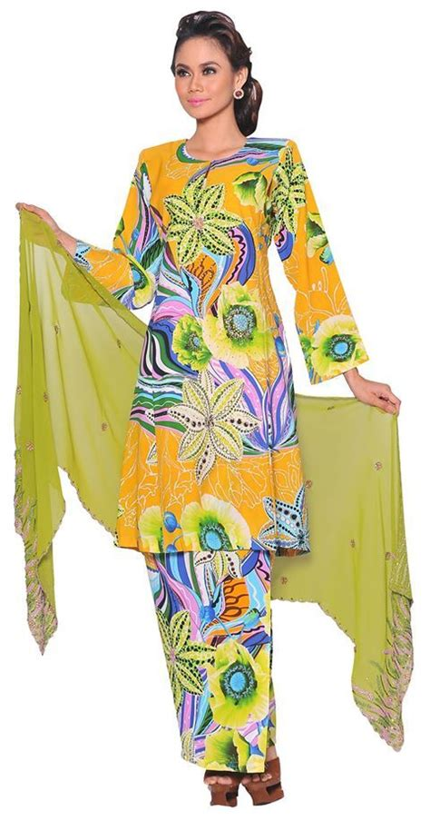 Baju Kurung Kaftan Pendek 245 best images about traditional costume on traditional kebaya lace and kebaya