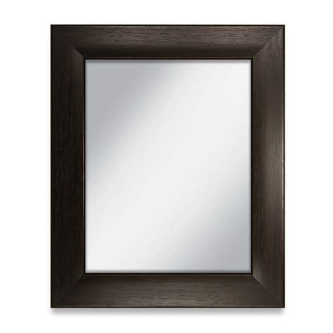 36 x 48 mirror 38 x 50 siena espresso frame with 36 x 48 mirror