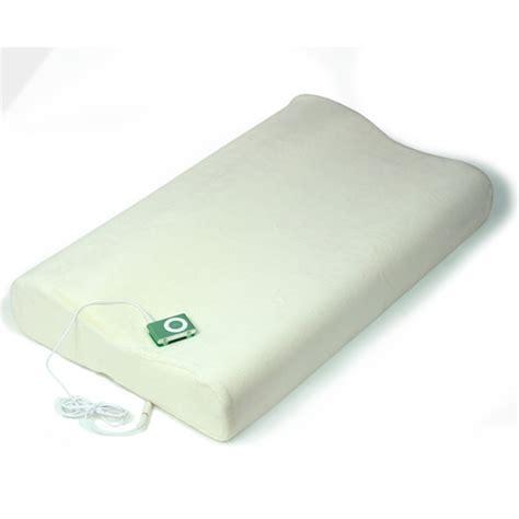 Soundasleep Pillow by Sound Asleep Memory Foam Pillow Drinkstuff