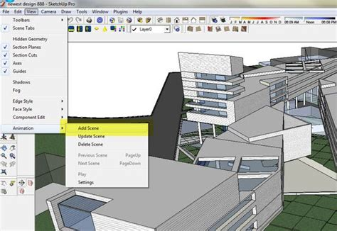 sketchup tutorial walkthrough sketchup to photoshop exterior lighting sketchup to