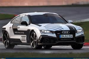 audi rs7 takes driverless car technology to new heights