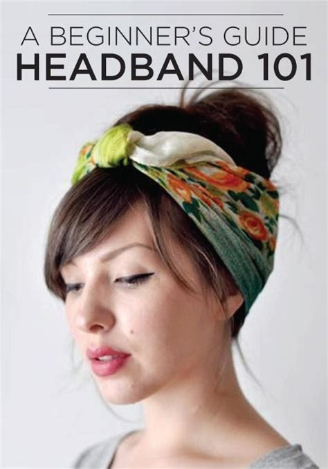 5 Tips For Wearing Headbands This Seasons Accessory by Headband 101 4 Modern Ways To Wear The Hair