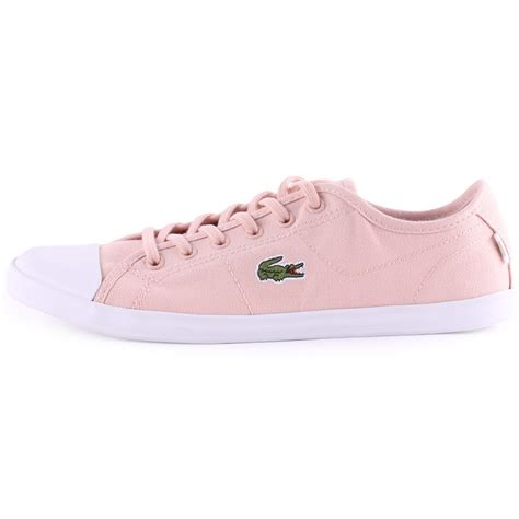 light pink womens sneakers lacoste ziane sneakers cls womens trainers in light pink