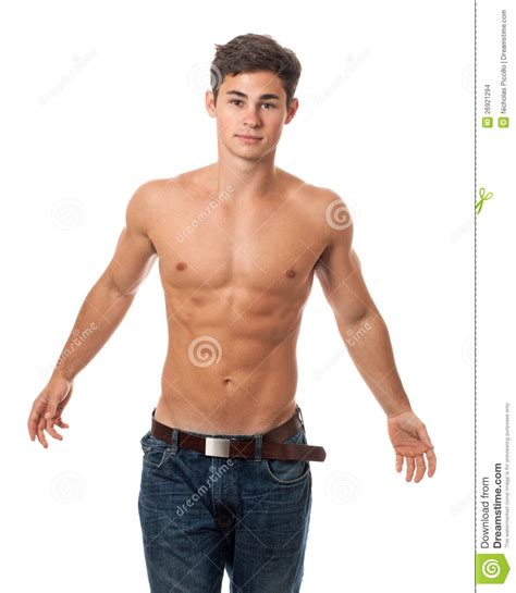 Sepatu Model Casual Mr Joe Indian attractive shirtless stock images image 26921294