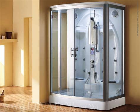 One Piece Bath Shower trevi steam shower from di vapor