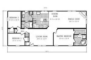 Oakwood Mobile Home Floor Plans Manufactured Home Floor Plan 2007 Oakwood Classic 1759