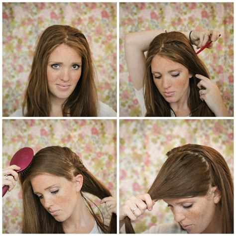 howtodo a twist in thefringe step by step the freckled fox hair tutorial braided bangs