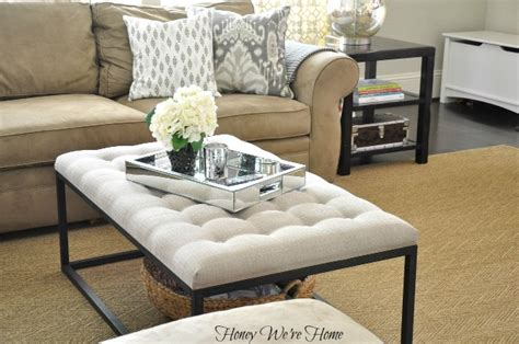 renate coffee table ottoman honey we re home coffee table switch