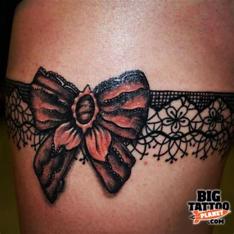 lace garter tattoo designs tattoos i like on garter tattoos lace garter