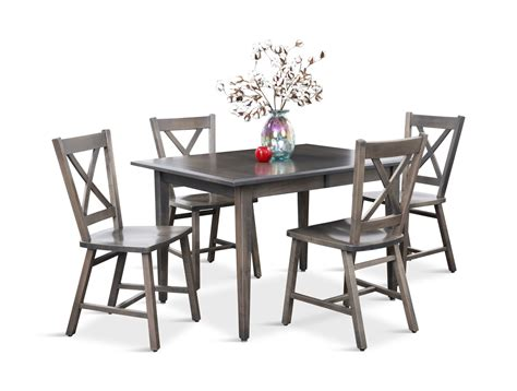 eagle dining table eagle mountain grey dining table and 4 x hom furniture