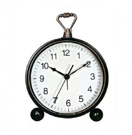 orologi da comodino vst orologio da comodino silenzioso in ferro battuto