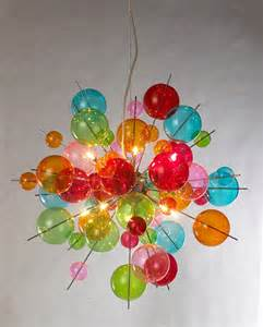 Coloured Glass Chandelier Multicoloured Sputnik Chandelier Be Fabulous