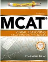 Mcat Verbal Section by Mcat Store Examkrackers Mcat Books And Audio