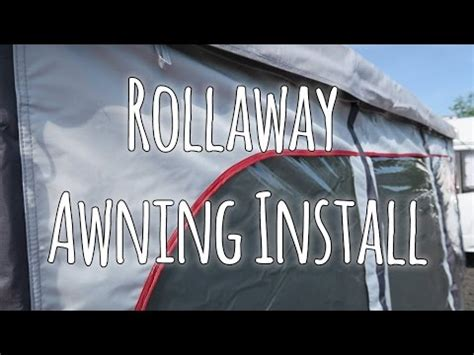 quest rollaway awning how to erect a caravan awning doovi