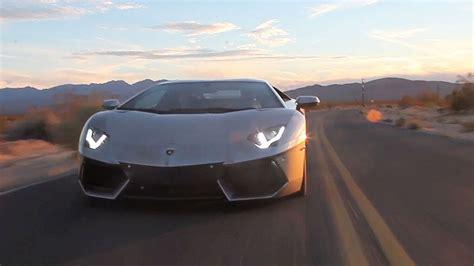 Lamborghini Aventador On The Road Road Tripping To Sema In A Lamborghini Aventador Tuned