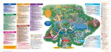 animal kingdom florida map mapa de disneyworld orlando viaje disney orlando