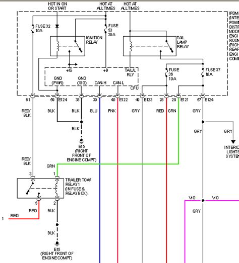 nissan frontier trailer brake wiring diagram 28 images