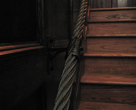Rope Banister Rail by Flux Design Custom Fabrication In Portland Or