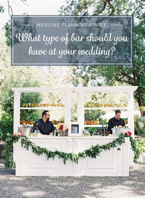 Wedding Budget Open Bar by Should You An Open Bar Bar Or Something In