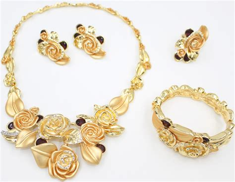 make fashion jewelry indian luxury brand necklace 18k gold