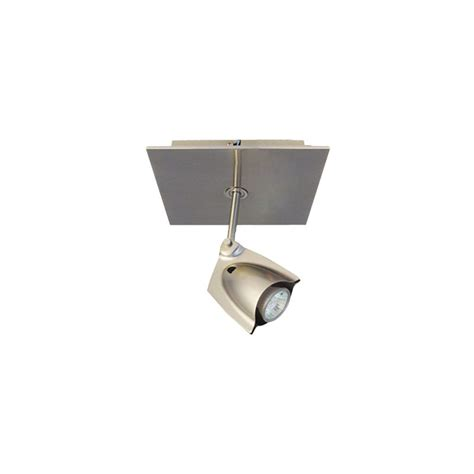 Bazz Lighting Fixtures Bazz Lighting Pr4001ch Chrome Accent Series Single Light Semi Flush Ceiling Fixture Finished In