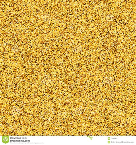 gold effect pattern gold glitter golden texture yellow placer stock vector