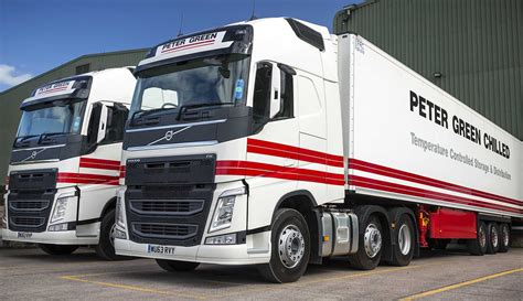 new volvo tractor peter green chilled adds 15 new volvo fh tractors ichainnel