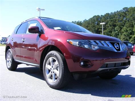 2009 nissan murano exterior colors