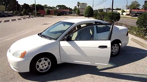 sold 2001 honda civic lx coupe white nice meticulous