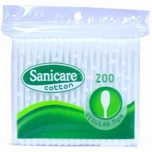 Eskulin Frozen Shoo sanicare cotton buds 200 regular tips