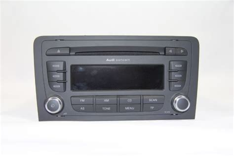 Audi Radio Concert Mp3 by Audi Concert 2 Cd Mp3 Radio F 252 R A3 8p 8p0 035 186 S
