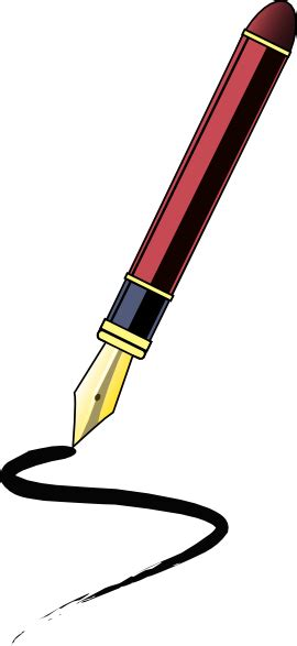 pen clipart ink pen clip at clker vector clip