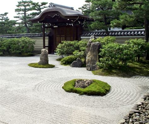 Japanese Rock Garden Design Japanese Gravel Garden