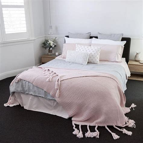 25 best ideas about pink and grey bedding on