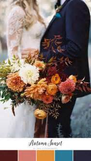 fall colors for weddings best 25 fall wedding colors ideas on